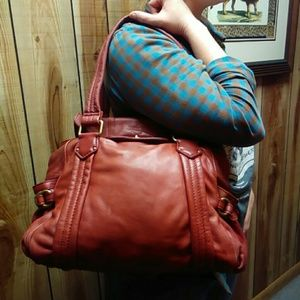Marc by Marc Jacobs red leather purse